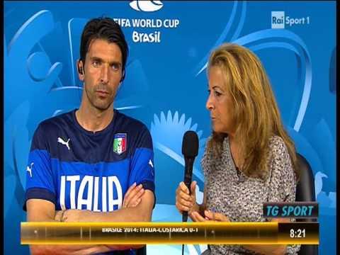 ITALIA - COSTA RICA 0-1 - INTERVISTA A GIANLUIGI BUFFON