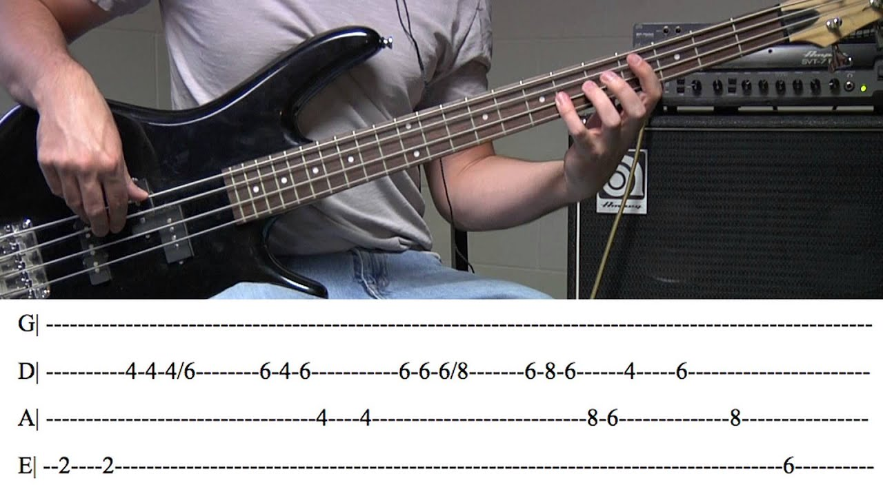 Bass guitar chords for