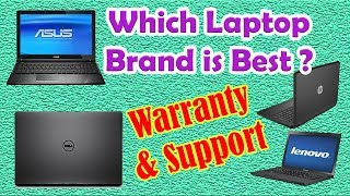Which Laptop is Best to Buy?🤔 Dell HP ASUS Lenovo - Warranty & Support👍 | Som Tips