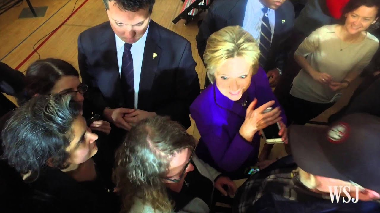 The Hillary Clinton Master Class in Selfie Taking