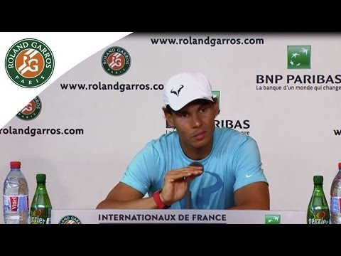 Press conference R.Nadal 2014 French Open R3