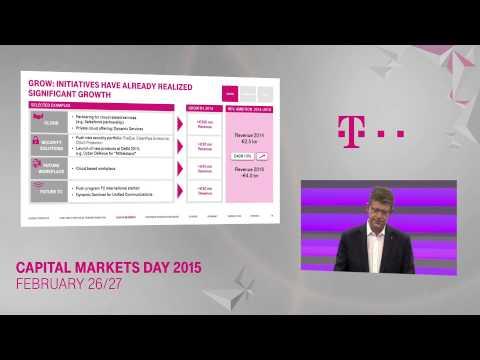 Reinhard Clemes on Lead in Business – Deutsche Telekom Capital Markets Day 2015