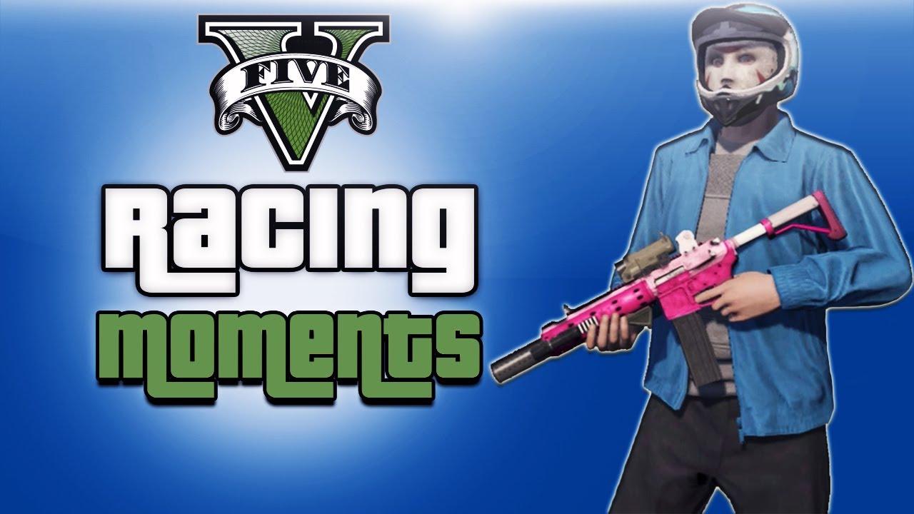 GTA V Funny RacingFighting  H2o Delirious Mask