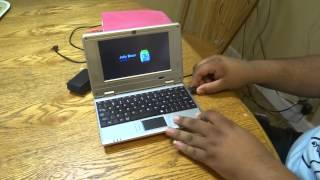 """WolVol 7"""" Netbook Touch Screen Android 4.1"""