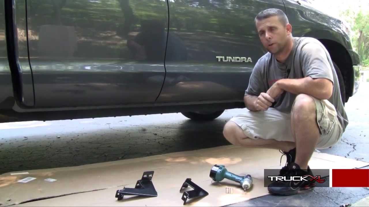 Steelcraft 3 Quot Nerf Bars Installation Toyota Tundra