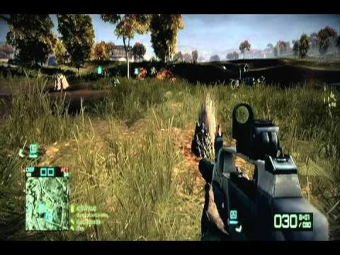 Lol Moment BFBC2 - 2 | Tank Tree Stump