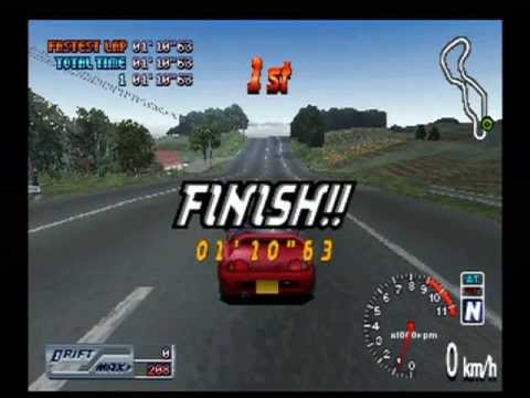 Ps1 Racing Games Japanese Touge Max g Ps1 Racing Game