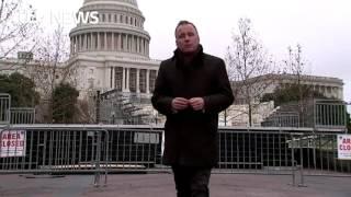 Washington prepares for President Trump