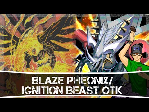 Yugioh Blaze Pheonix   Ignition Beast Otk (hot Wings Otk) Duel video