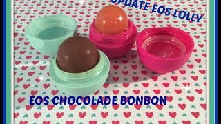 EOS chocolade bonbon en update EOS Lolly  :-)