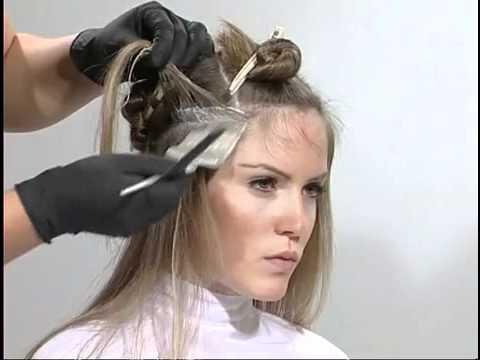 Колорирование на короткие волосы как сделать