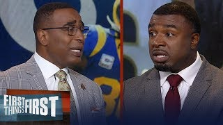 Seahawks are the old reliable pickup you want in Dec/Jan- Brian Westbrook | NFL | FIRST THINGS FIRST