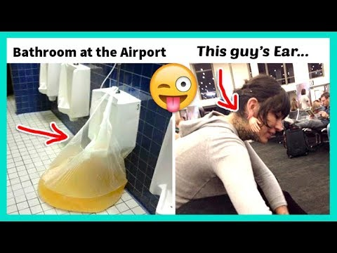 The Most WTF Things Seen At The Airport