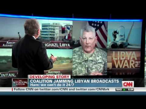 General In Charge of Africom Admits US Military Is Jamming Libyan Communications