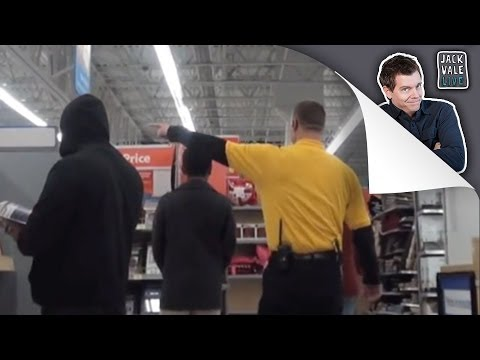 Getting kicked out of Walmart for doing pranks (ft. magicofrahat)