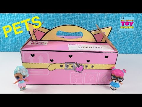 Download Lagu LOL Surprise Pets Series 3 Wave 1 Surprise Present Toy Review Opening | PSToyReviews MP3 Free