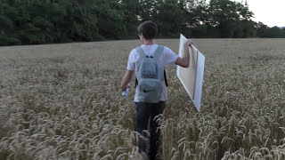 Space Painting in Nature - by AnimeGraff