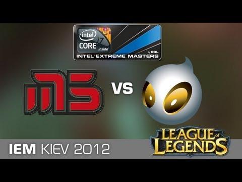 IEM Kiev League of Legends - Moscow Five vs. Team Dignitas
