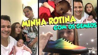MINHA ROTINA COM OS GÊMEOS GALVÃO