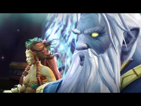 WoW Legion 7.3.2 Анторус, Пылающий Трон - Финальный ролик на русском языке