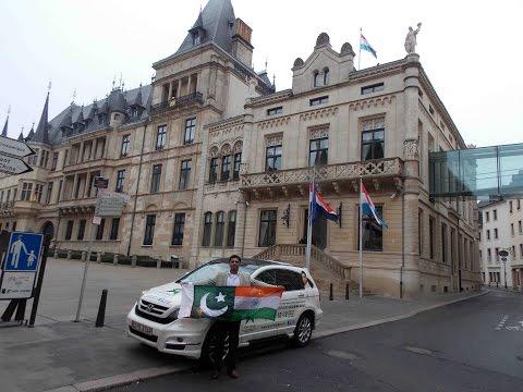STAR MALIK - Arrival in Luxembourg