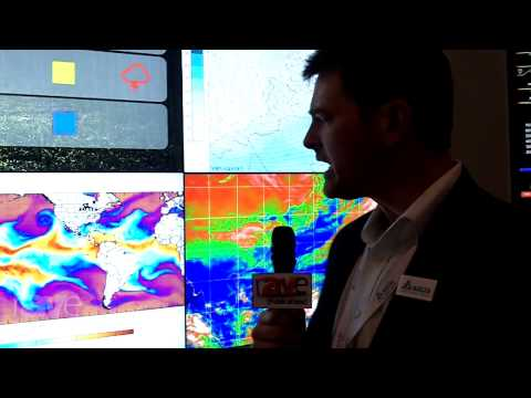 ISE 2015: Delta Products Showcases its Ultra Narrow Bezel LCD Video Wall
