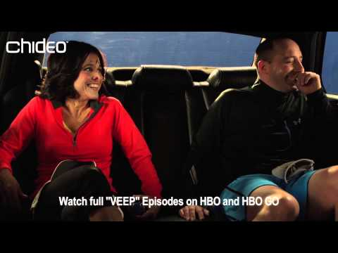 Tony Hale and Julia Louis-Dreyfus VEEP Blooper