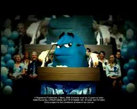 M&M Vote Blue