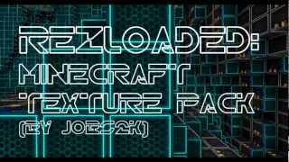 [TS] Minecraft Rezloaded Tron Texture Pack