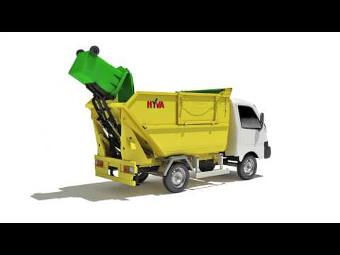Hyva launches new R-Line Refuse Collection Micro (RCM)