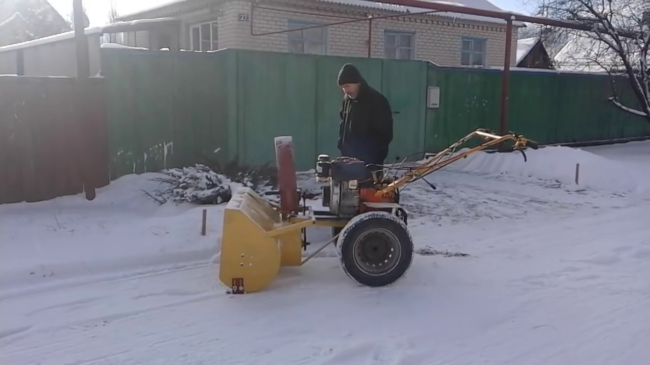 Снегоуборочная машина своими руками с электродвигателем