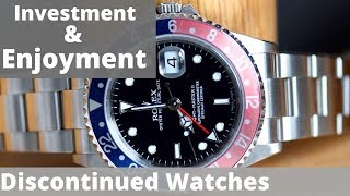 Discontinued Luxury Watches - Ultimate Investment & Enjoyment