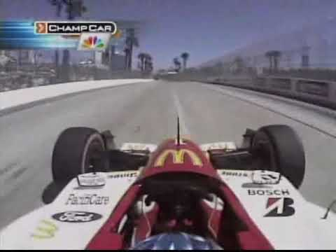 OnBoard Bourdais At Long Beach '05