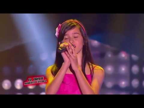 Natalia - El triste de Roberto Cantoral - LVK Colombia - Audiciones a ciegas - T1