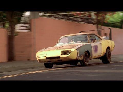 Mopars in the Movies - Joe Dirt - 1969 Dodge Daytona & 1967 Plymouth GTX Convertible