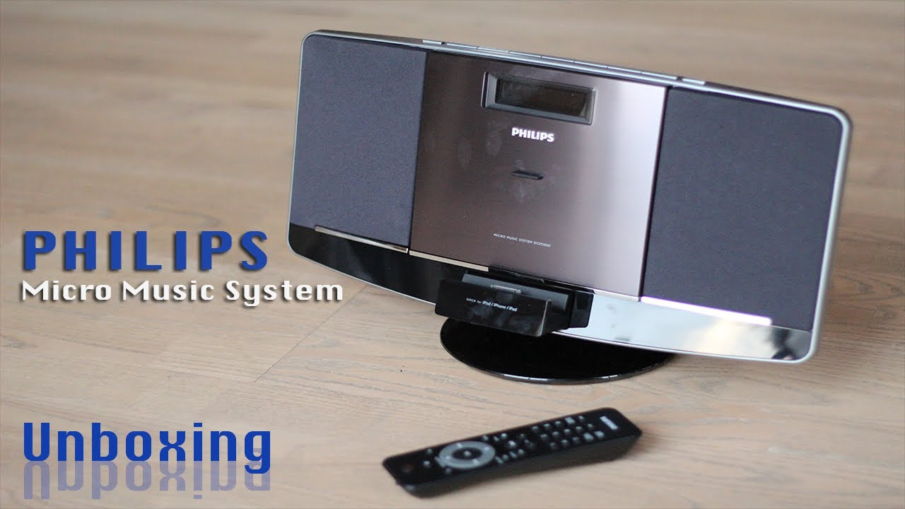 Philips Micro Music System Unboxing Youtube