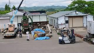 木質ペレット製造設備を組み立てる【FDNニュース】