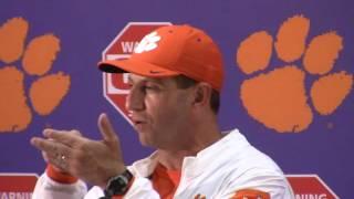 TigerNet.com - Dabo Swinney Louisville postgame press conference - Part 1
