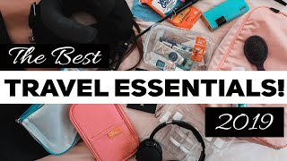 BEST TRAVEL ACCESSORIES 2019!! (Don't travel without these gadgets!)