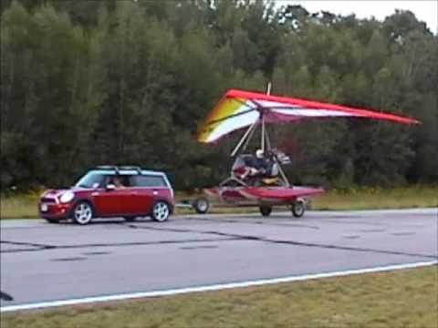 Float Trike Flies from Runway