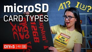 How to choose microSD cards for Android phones, dashcams and drones – DIY in 5 Ep 96