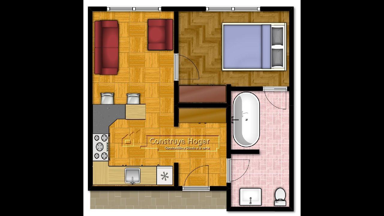 Como dise ar un departamento hacer los planos y dise o for Programa para remodelar casas gratis