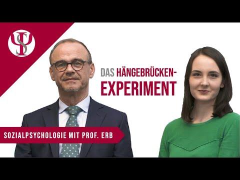 Das Hängebrücken-Experiment | Psychologie mit Prof. Erb