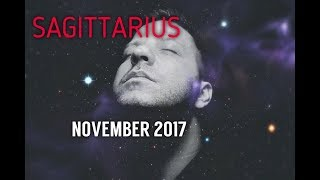 SAGITTARIUS November 2017 Horoscope Tarot - BIG SUCCESS | Money | Love & Romance