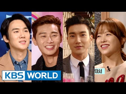 Entertainment Weekly | 연예가중계 - Choi Siwon, Park Seojun, Park Boyoung (2015.12.04)