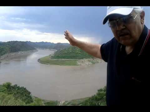 Pakistan's River Jhelum near Dadyal Azad Kashmir.3gp