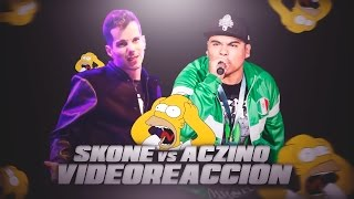 ACZINO VS SKONE | VIDEO REACCIÓN | Estrimo
