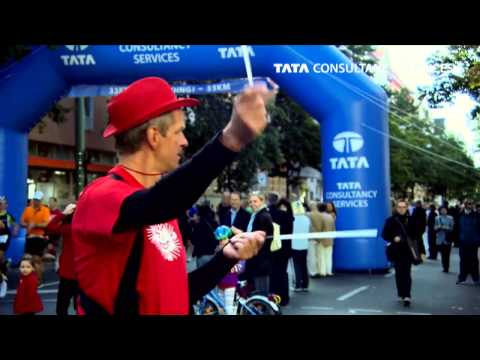 TCS at the BMW BERLIN MARATHON 2012