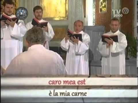 Gregorian Chant - Panis, quem ego dedero