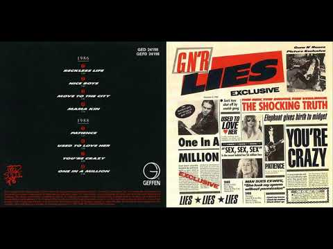 Guns N Roses - Lies albumics